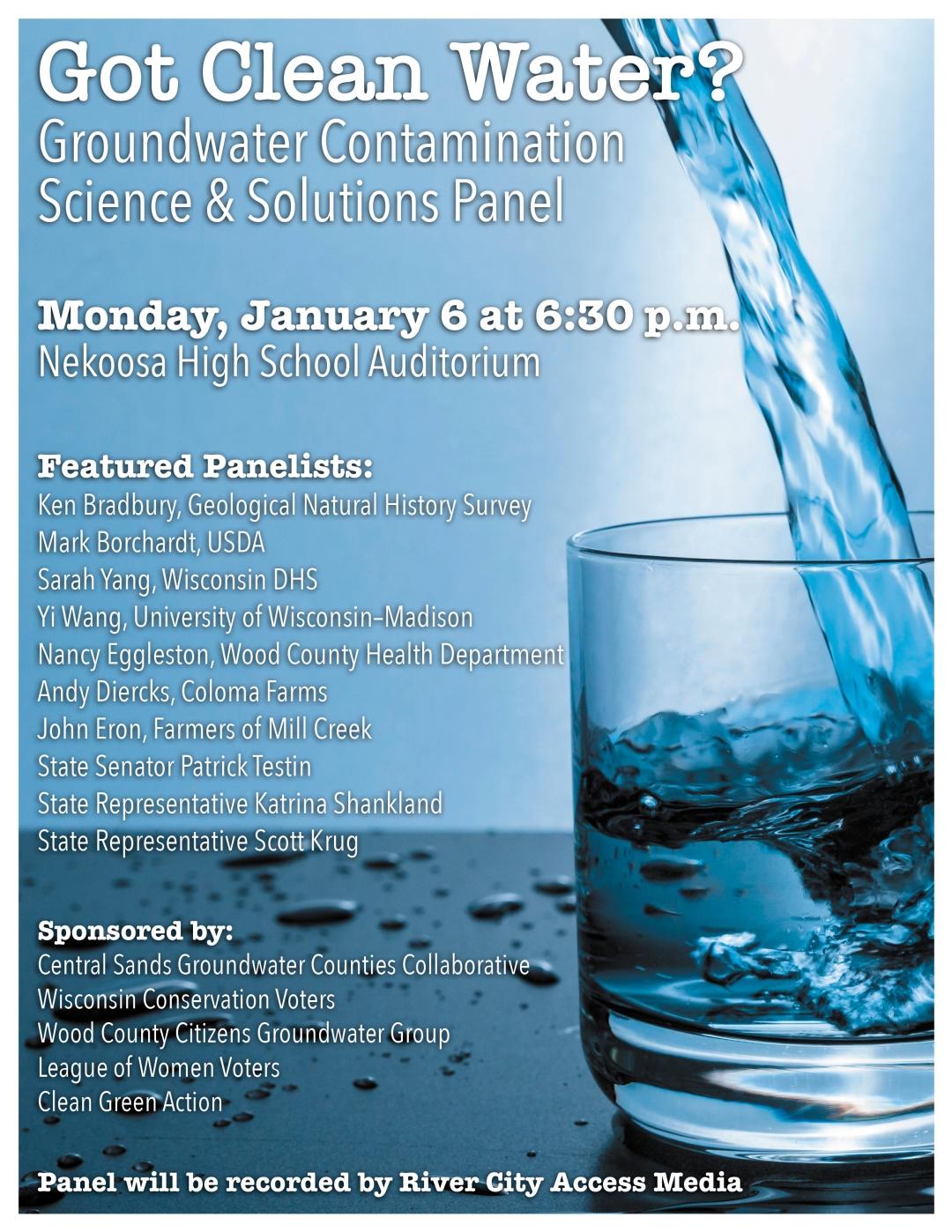 Water Panel Poster V4